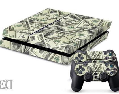 סטיקר PS4 DOLLARS