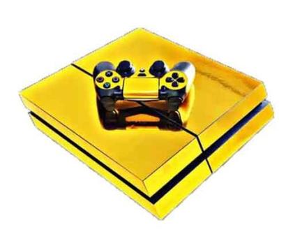 סטיקר PS4 GOLD
