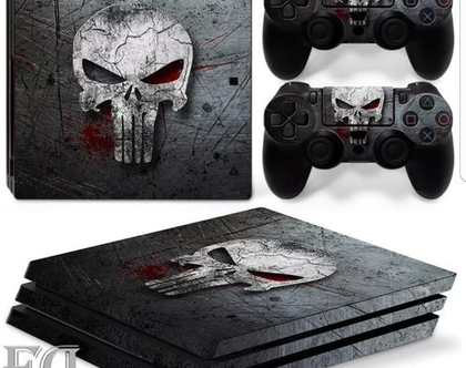 סטיקר PS4 PUNISHER
