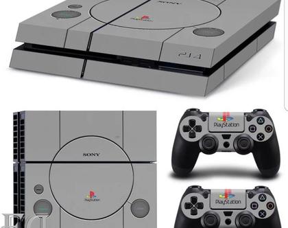 סטיקר PS4 CLASSIC