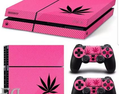סטיקר PS4 PINK