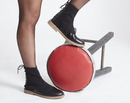 מגפיים במבצע - מגפיים שטוחים נוחים