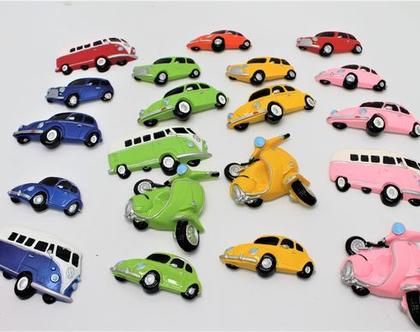 מגנטים מכוניות רטרו
