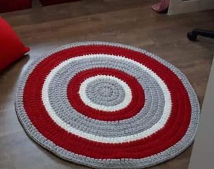 שטיח לחדר ילדים | שטיח טריקו לחדרי תינוקות וילדים | שטיח סרוג לחדר ילדים