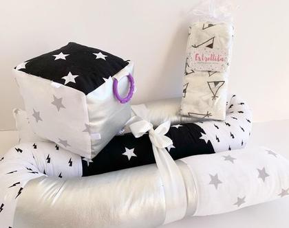 נחשוש 2 מטר | נחשוש למיטת תינוק | נחשוש המקיף את מיטת התינוק | נחשוש לכל המיטה | נחשוש גדול | נחשוש לבן ולבת | נחשוש שחור לבן כסוף