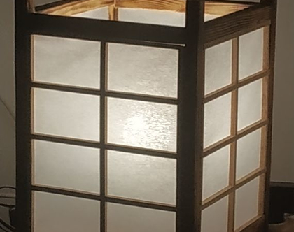 מנורה יפנית דגם סוגי