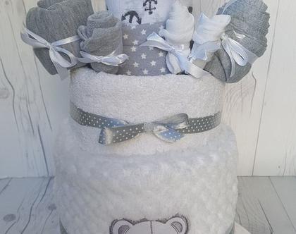 מארז ליולדת | מתנה ליולדת | מארז לידה | עוגת קומות