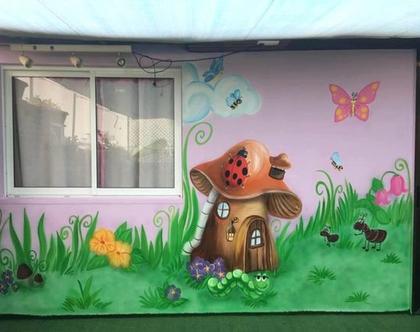 ציורי קיר לחדרי ילדים בהזמנה אישית