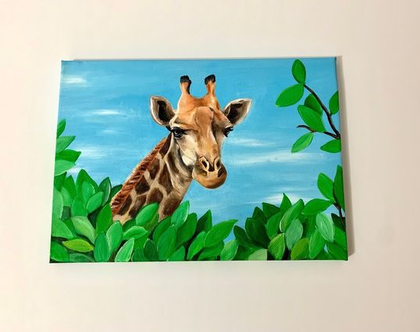 ציור אקרילי על קנבס למכירה