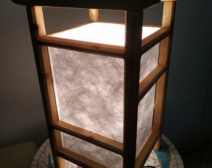 מנורה יפנית דגם טמפל