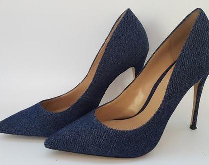 נעלי עקב גינס ALDO מידה 38