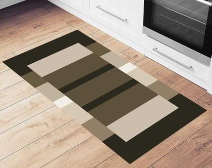 שטיח ויניל דגם מודרני 2 | שטיח pvc מעוצב | שטיח למטבח | שטיח pvc לבית