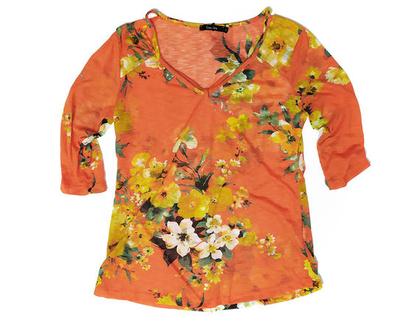 חולצת פרחים אביגיל