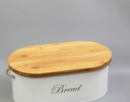 ארגז לחם - מעוצב בצבע לבן | ארגז לחם מעוצב | ארגז לחם בעיצוב מינימליסטי | ארגז לחם בצבע לבן