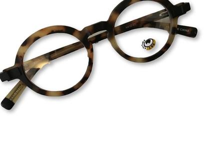 משקפי קריאה מעוצבים, משקפי קריאה עגולים, משקפי קריאה מיוחדים, משקפיים מנמרים