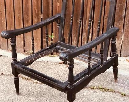 כורסא מלכותית -לפני חידוש