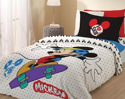סט מותגי ילדים 100% כותנה Mickey and Minnie Mouse -יחיד- דגם 771