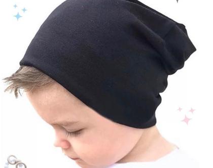 כובע היפסטר לתינוק / כובע כותנה / כובע לתינוק לחורף / Toddler Beanie