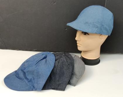 כובע ג'ינס | קסקט יוניסקס | קסקט ג'ינס