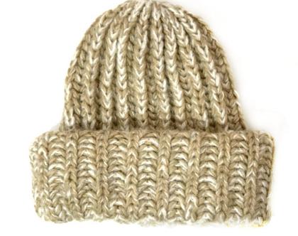 Aqua | כובע אופנתי בז׳ אקווה