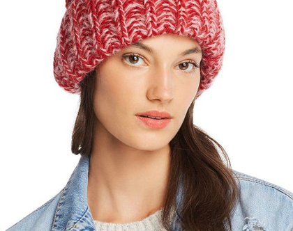 Aqua | כובע אופנתי אדום אקווה