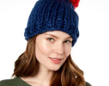 BCBGeneration | כובע פונפון אופנתי ביסיביג'י