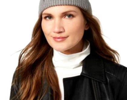 Kate Spade New York | כובע אפור קייט ספייד
