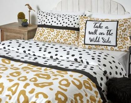 מצעים למיטה מתכווננת 100% כותנה דגם קלואי
