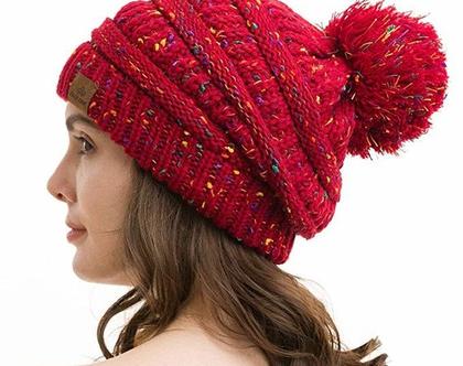 כובעים מצמר לנשים/גברים בעיצוב מיוחד איכות מעולה בשלל צבעים לבחירה