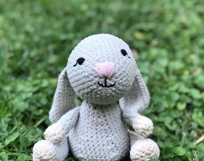 בובה סרוגה בעבודת יד ארנב