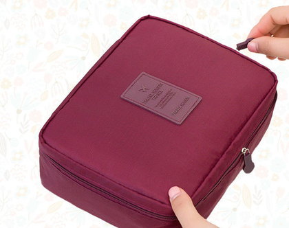 אירגונית קוסמטיקה גדולה | ארגונית למזוודה | ארגונית טיפוח | ארגונית לנסיעות | ארגונית לתיק נשים| תיקים לנשים | תיק לנסיעה |