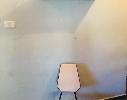 נמכר! כיסא ברזל ישראלי נדיר מושלם שנות ה-50