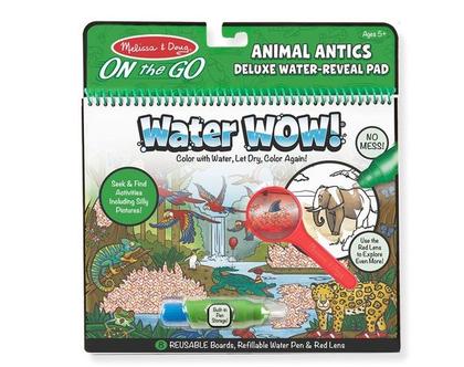 חוברת טוש מים מורחבת חיות בטבע
