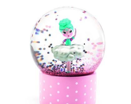 כדור שלג קטן | מיני כדור שלג רקדנית בלרינה