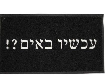 שטיחון כניסה עמיד במיוחד poly-tech צבע שחור