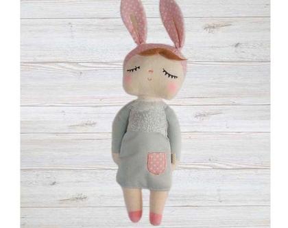 בובה רכה לילדים   מתנה לילדה   בובה מיוחדת   בובה רכה   חפץ מעבר  
