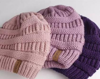כובעים מצמר לנשים בעיצוב מיוחד ואיכותי בשלל צבעים לבחירה
