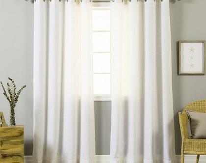 וילון הצללה במידות מוכנות ב 10 צבעים | המחיר לזוג וילונות וילונות לחדר שינה | וילונות לחלון סטנדרטי | וילון לחלון ממד| וילונות למשרד