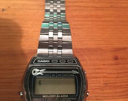 נמכר!!שעון Casio מושלם משנות ה-80