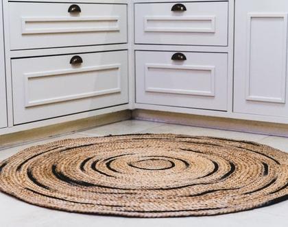 שטיחים לבית | שטיח מבד יוטה | שטיח עבה