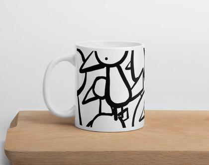 ספל קפה מולי | ספל קרמי עם ידית | ספלים בעיצוב אישי | ספלים לקפה | מולי ALL OVER