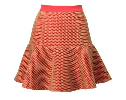 חצאית לוטוס אדומה