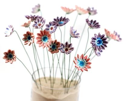 פרחי קרמיקה לעיצוב הבית, עיצוב אירועים