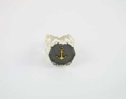 טבעת עוגן/ טבעת מיוחדת/ טבעת מתכווננת