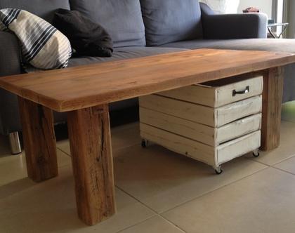 שולחן סלוני ארגז איחסון
