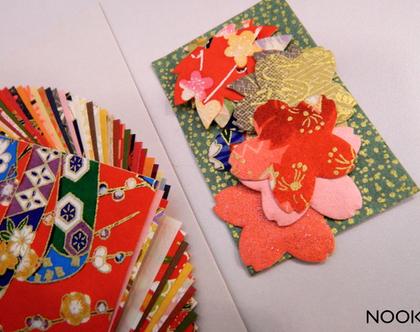 נייר ליצירה   אוריגמי   נייר לעבודות יד   נייר יפני  