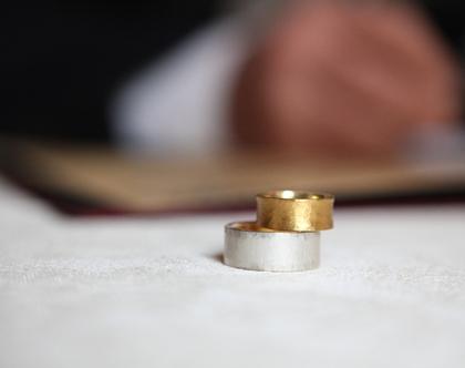 טבעת נישואין - זהב טהור 24 קארט