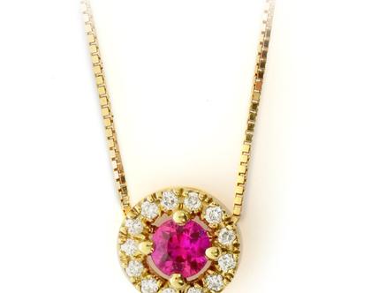 שרשרת זהב ואבני חן, שרשראות זהב, תליון יהלומים, שרשרת רובי, שרשרת יהלום