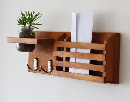 מתלה מפתחות מעוצב דגם ״ענבל״- עיצוב הבית, אירגונית לדואר, עיצוב הבית, עיצוב קירות.