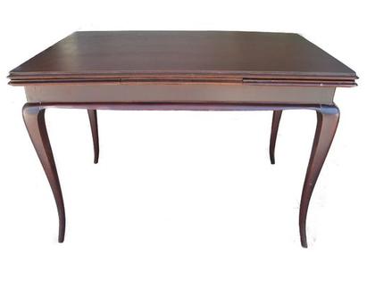 שולחן וינטגי בחום